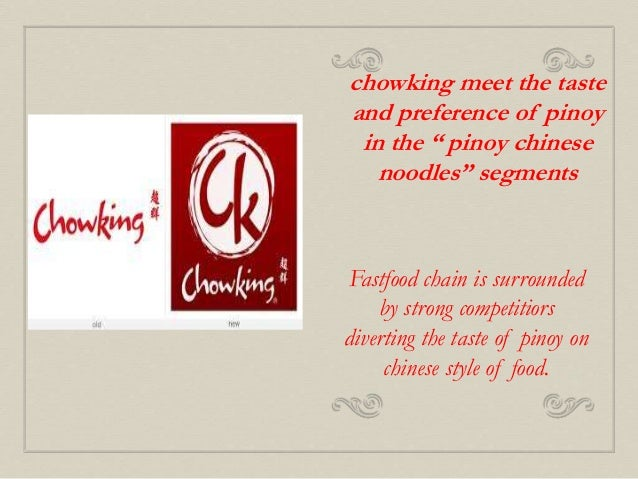 chowking marketing plan Chowking – padre faura corner mabini street ermita, metro manila  (21 marks)  (a) in order to develop a marketing plan or strategy which can.