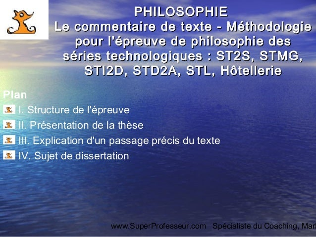 Correction dissertation philosophie terminale s