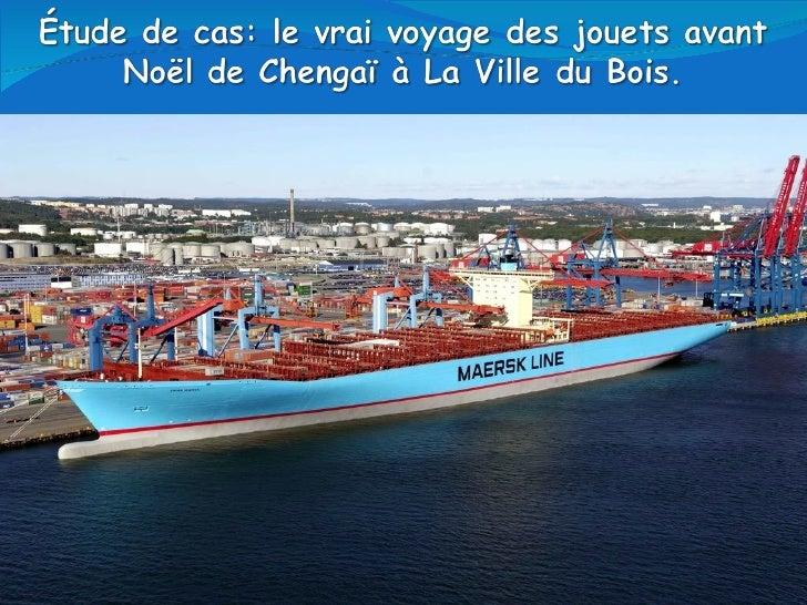 Le commerce mondial est un des piliers de la mondialisation: en quoi le commerce maritime en est il l'expression visible ?
