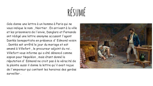Resume chapitre monte cristo esl phd thesis statement ideas