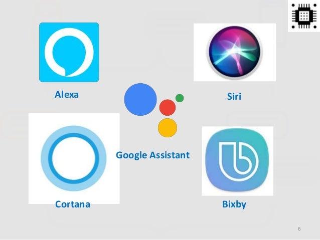 Alexa Google Assistant Siri Cortana Bixby 6