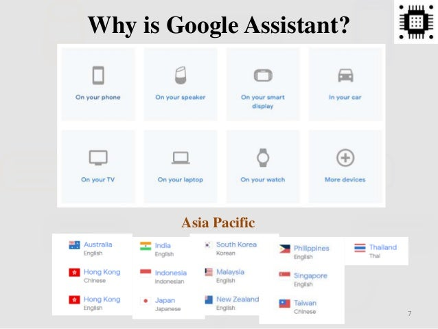 7 Why is Google Assistant? Asia Pacific