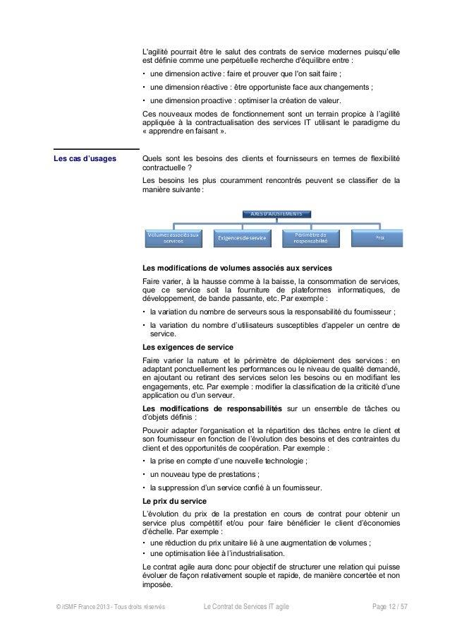 Exemple De Contrat De Service Informatique - Le Meilleur ...