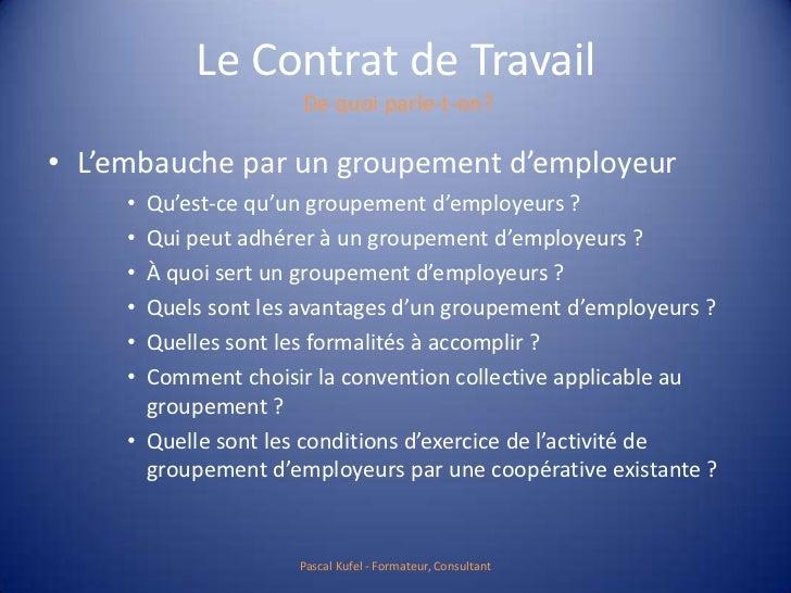 le contrat de travail 15 728.