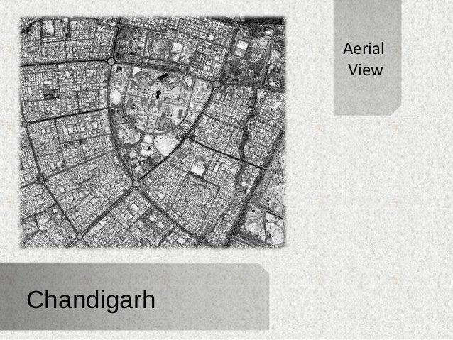 Chandigarh  Aerial  View