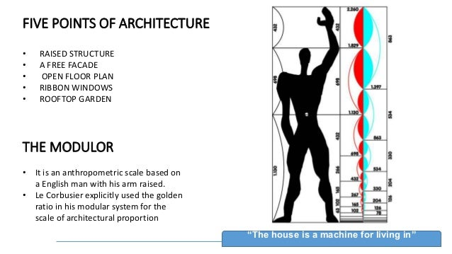 Atma le corbusier for 5 points corbusier