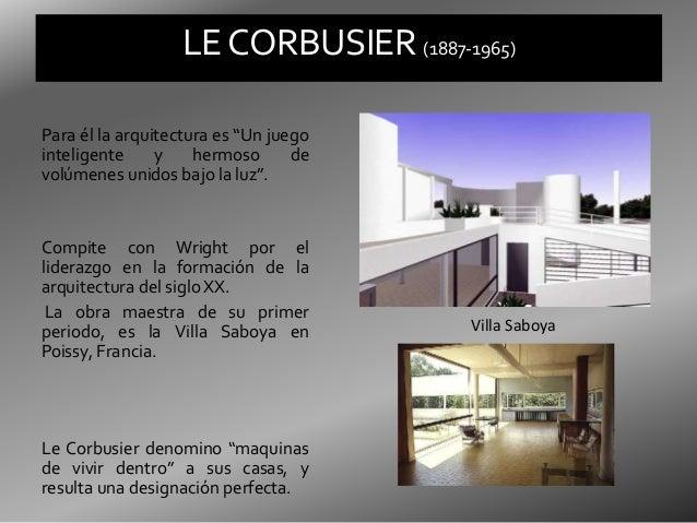 Le corbusier - Cubismo arquitectura ...