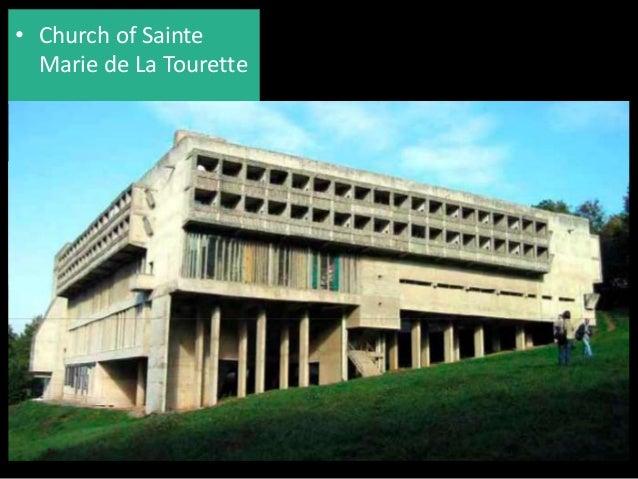 church of sainte marie de la tourette