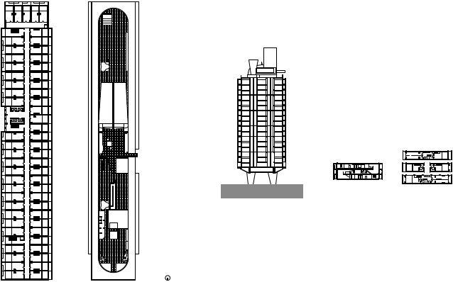 Le corbusier unite d 39 habitation plan - Unite d habitation dimensions ...