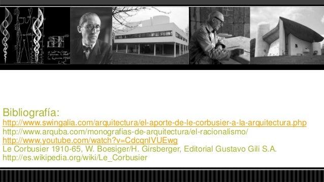 Le corbusier: Architecture