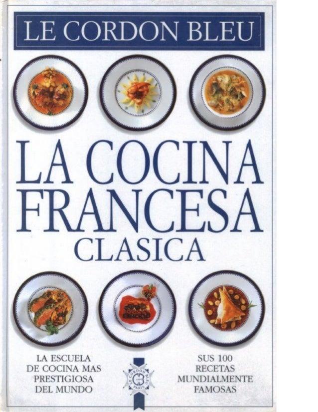 Le Cordon Bleu Cocina Francesa Clasica