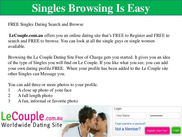 free username and password for dating sites