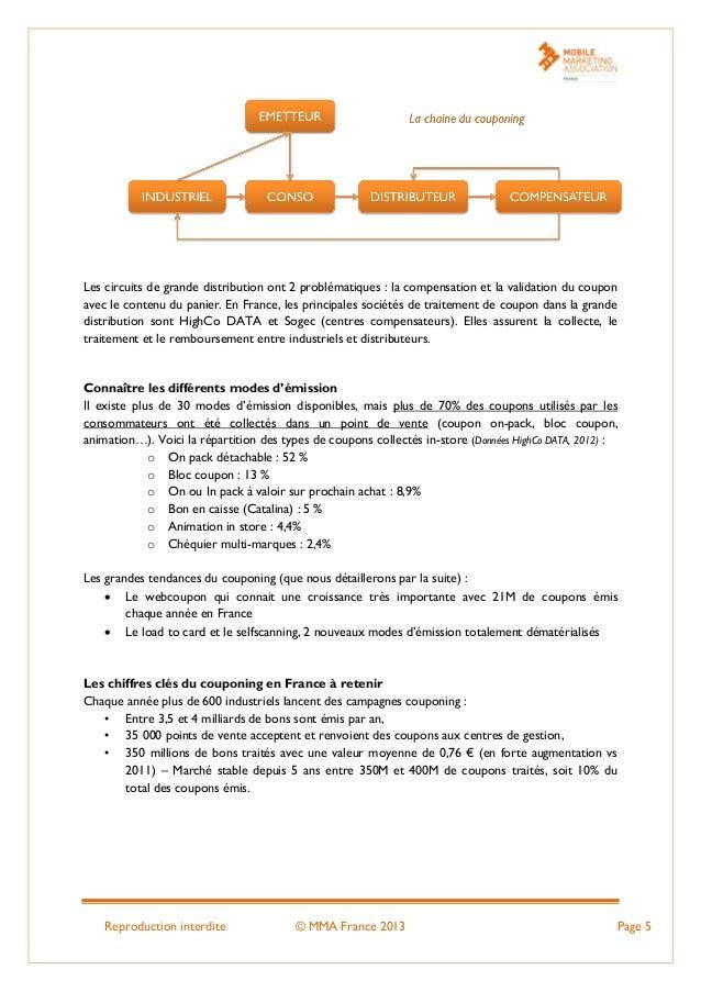 Reproduction interdite © MMA France 2013 Page 5 Les circuits de grande distribution ont 2 problématiques : la compensation...