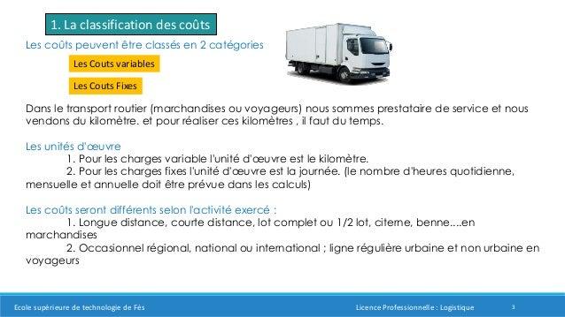 grille tarifaire transport routier de marchandises