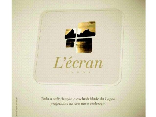 L´ecran apresentacao.pdf