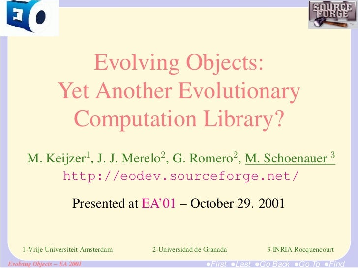 Evolving Objects: Yet Another Evolutionary Computation Library?