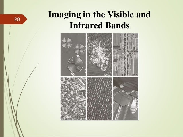 Imaging in the Visible and Infrared Bands 28