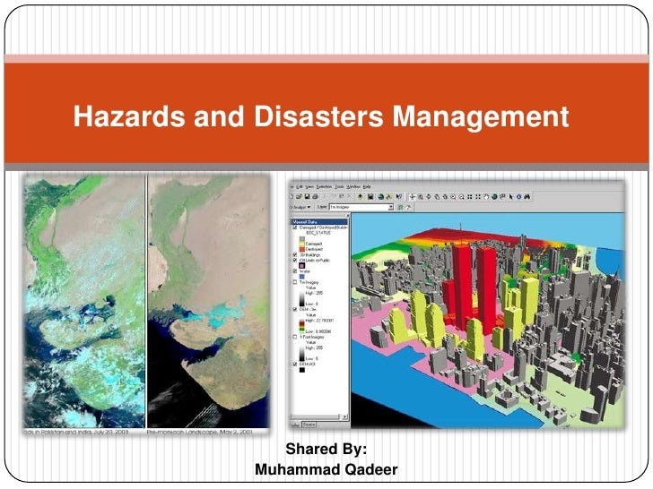 Shared By:<br />Muhammad Qadeer<br />Hazards and Disasters Management<br />