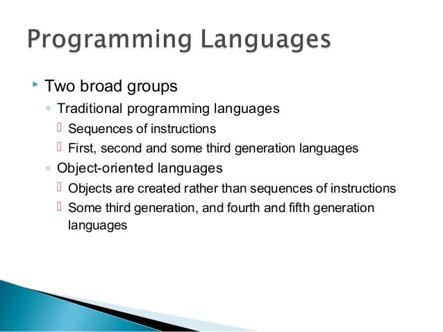 a introduction of programming languages Introduction to the fundamentals of programming languages in this class you'll learn how to parse and understand html and javascript.