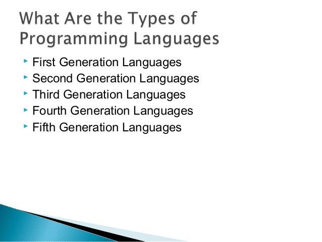 an introduction to the modern programming language Modern programming languages: fortran90/95/2003/2008 this is an intermediate class • you know already one computer language • you understand the very basic concepts: .