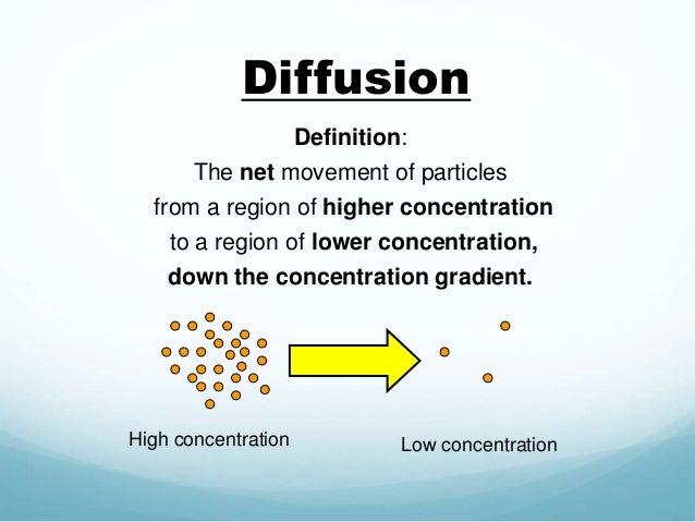 Diffusion Definition: ...