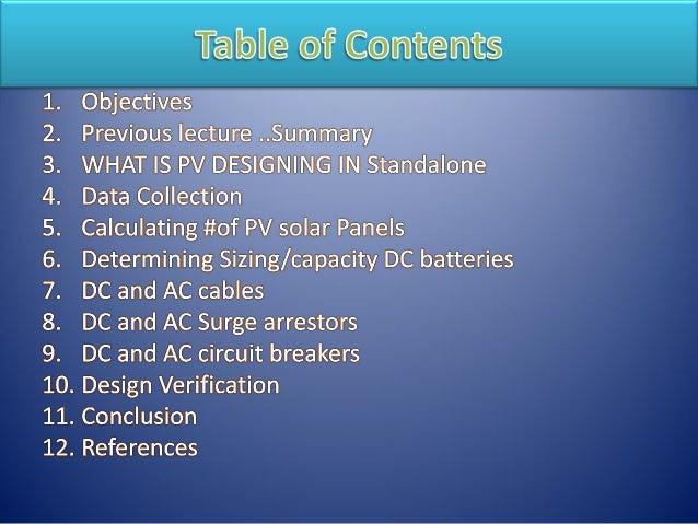 Free training Online course: Off-grid PV system design Procedure Ste…