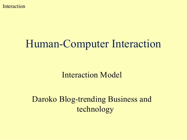 impact of technology on human interaction The success or failure of technologies, the question whether technology helps humans to fulfill their goals or whether it hinders them is in most cases not a the primary mission of the international journal of technology and human interaction (ijthi) is to be instrumental in the improvement and.