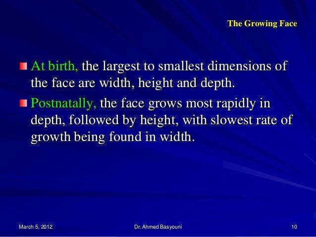 craniofacial growth and development pdf