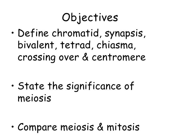 Lect 3 meiosis
