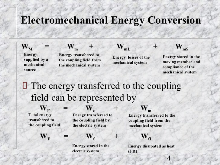 Electromechanical Energy Conversion ppt 2