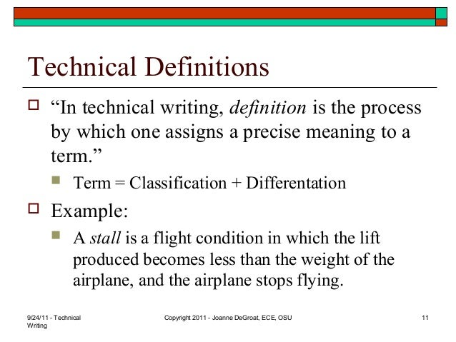 an example of technical writing Technical skills are a person's abilities that contribute directly to performance of a given job, such as computer, engineering, language and electrical skills.