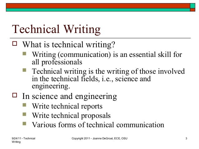 technical writing basics Need a reminder on the basics of technical writing i've teamed up with the ladies of pare and flourish to bring you some tips for engineers.