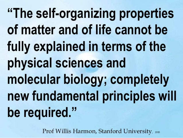 """""""…the very study of external world led to the scientific conclusion that the content of consciousness is the ultimate univ..."""