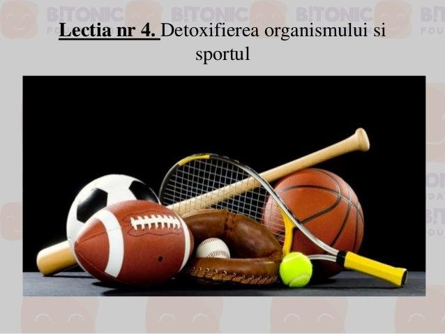 Lectia nr 4. Detoxifierea organismului si sportul