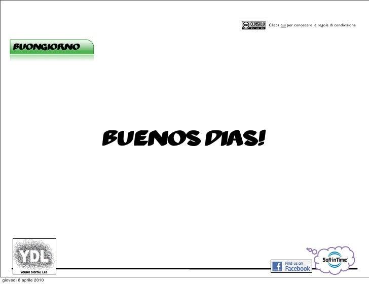 CORSO IN WEB MARKETING E WEB 2.0!                                             Clicca qui per conoscere le regole di condiv...