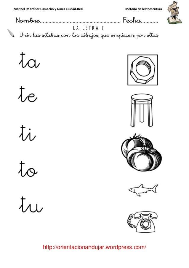 Lectoescritura T
