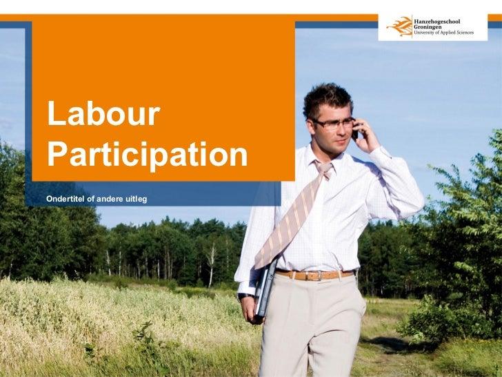 LabourParticipationOndertitel of andere uitleg