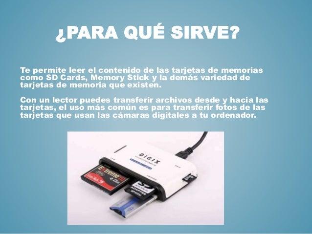 tarjeta de memoria para q sirve
