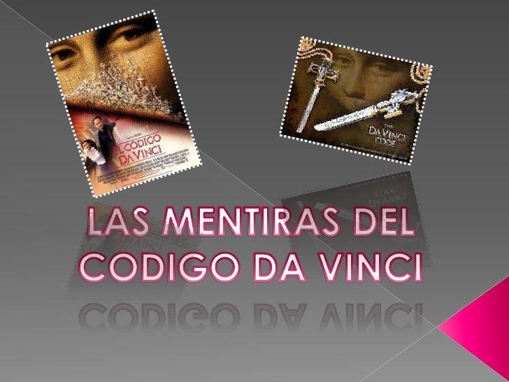 LAS MENTIRAS DEL CODIGO DA VINCI<br />