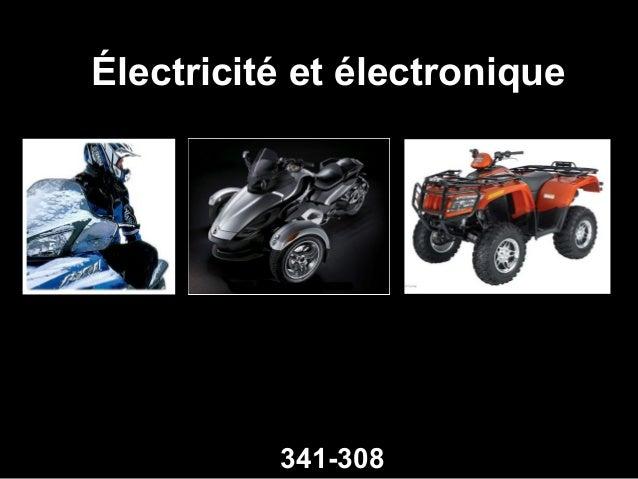 Électricité et électronique  341-308