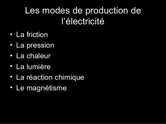 Éectricité et électronique chapitre 1