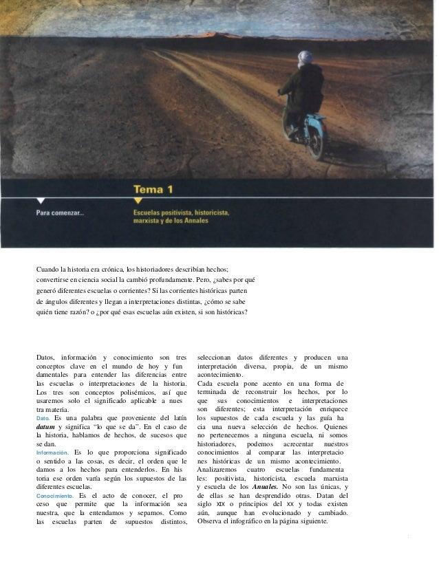 ESCUELAS HISTORIOGRAFICAS EBOOK