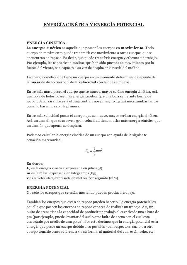 Lectura 2 energía