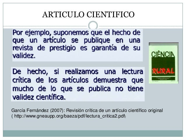 Lectura critica de un articulo Dr Juan Sanguinetti