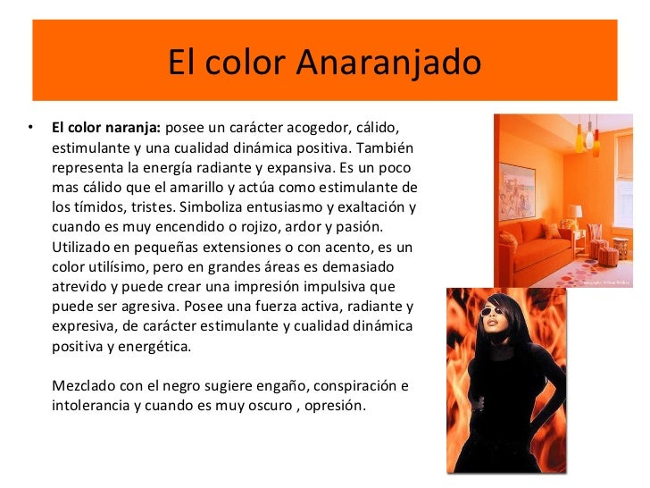 Lectura de im genes color - Como se consigue el color naranja ...