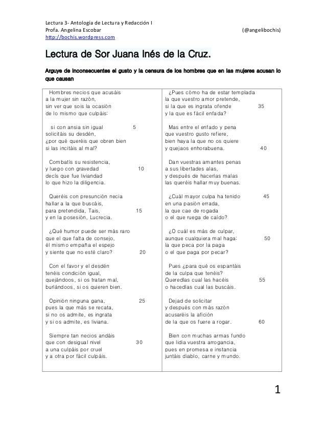 Poemas de sor juana ines dela cruz cortos yahoo dating. squirt org lists the best cruising spots in coleraine.