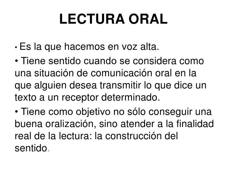 La Lectura Oral 65