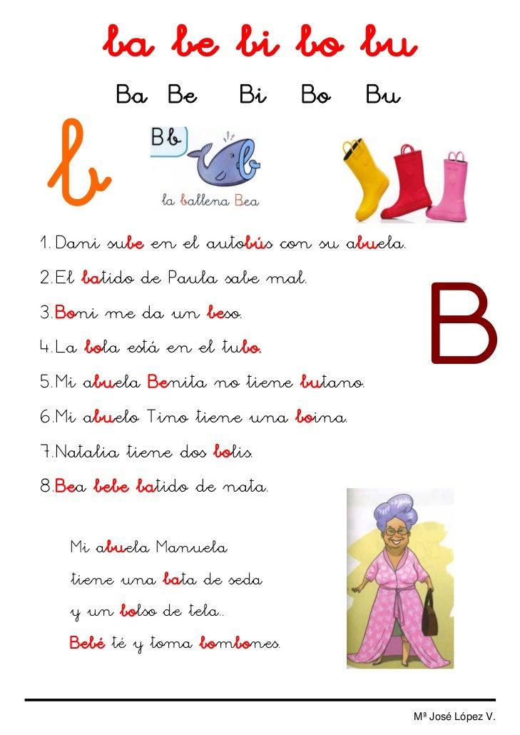 Colorinets trabajamos la letra d y b for La b b