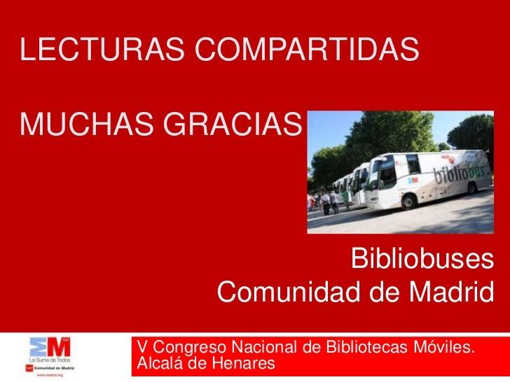 Lecturas compartidas for Viviendas compartidas en madrid