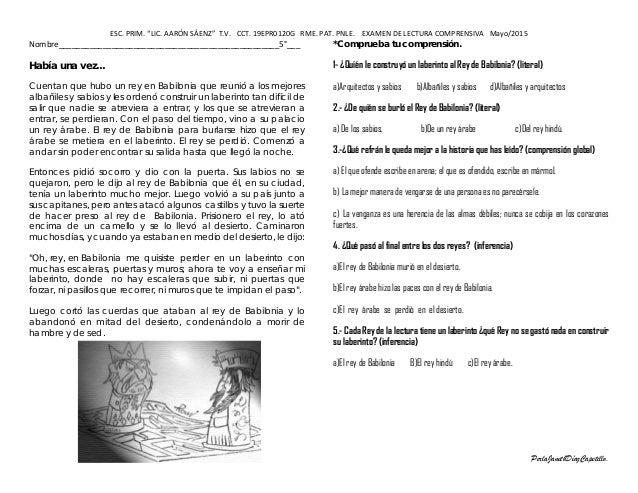 Awesome Lectura Comprensiva Cuarto Primaria Pictures - Casas: Ideas ...